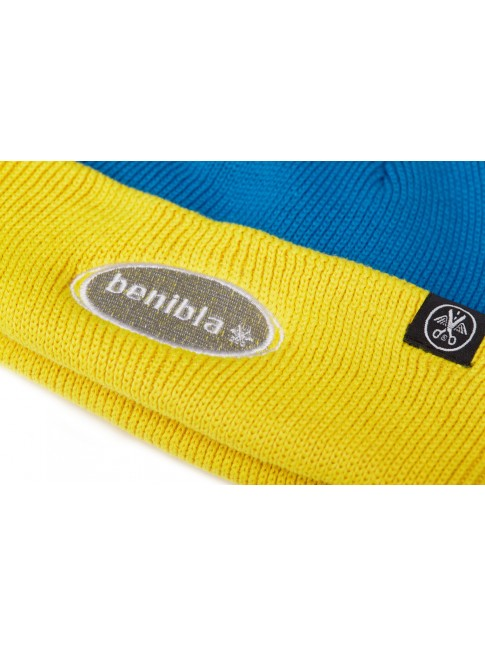 Beanie - Yellow Blue
