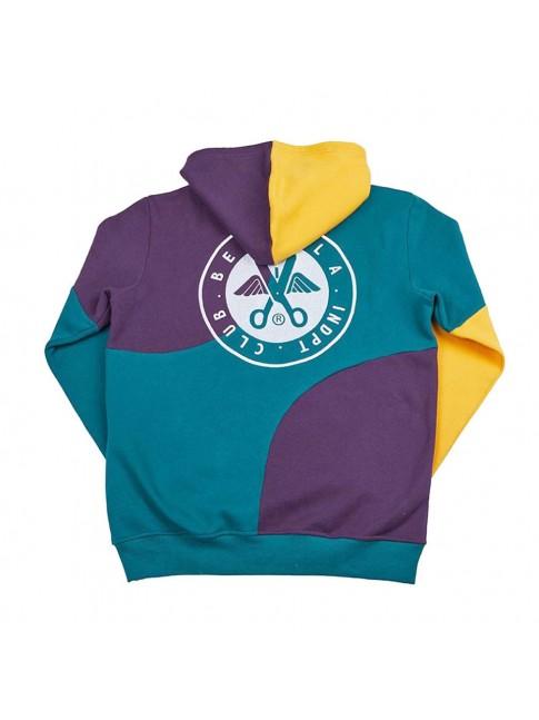 Hoodie patchwork - Purple