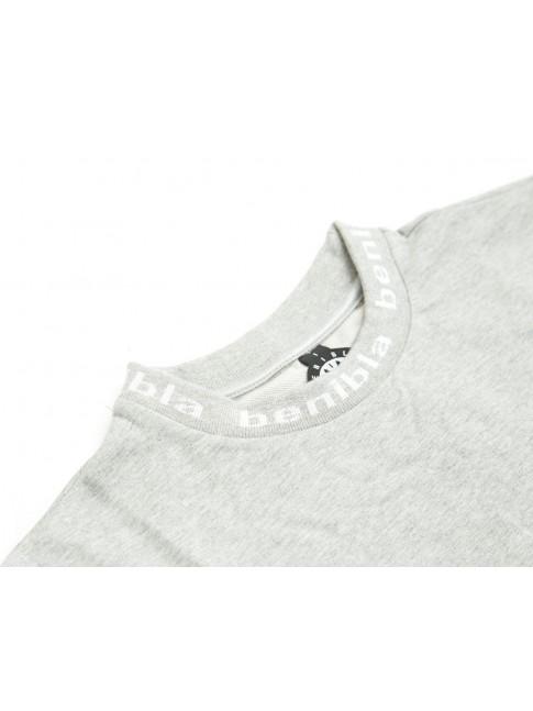 Long sleeves typo - Grey melanged