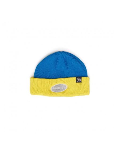 Beanie - Yellow Blue