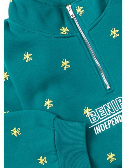 Half zip All over - Green