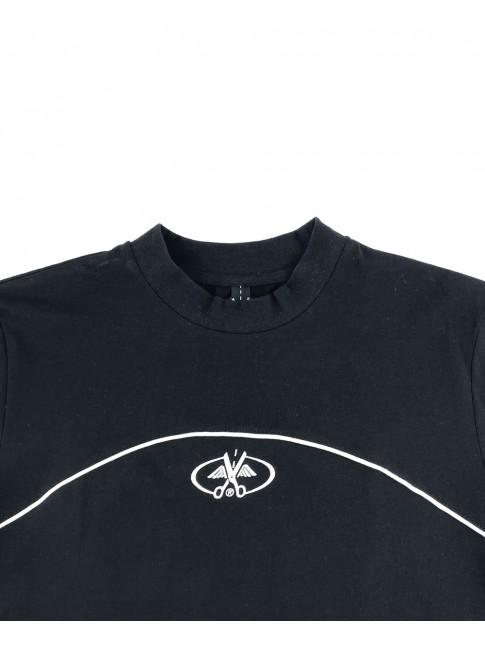 T-shirt Black - Stripes