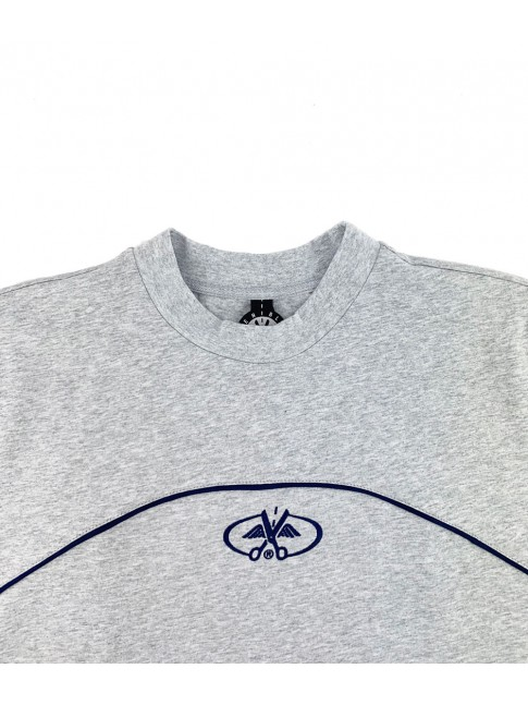 T-shirt Grey - Stripes