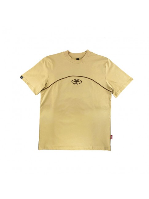 T-shirt Beige - Stripes